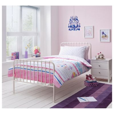 Mitzi Single Bedframe, Ivory