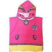 Paw Patrol Skye Hooded Towel Poncho