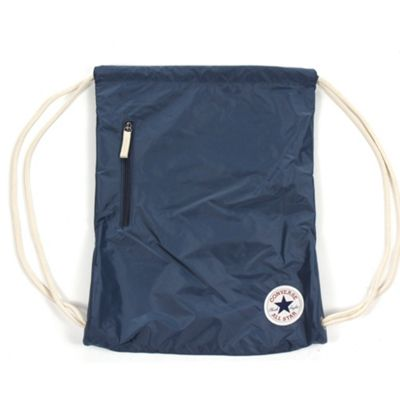 Converse All Star Core Cinch Gymsack Gymbag Shoudler Bag - Navy Blue
