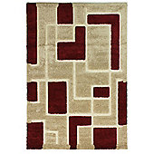Venice Imperial Red/Beige Rug 160x230cm
