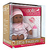 Dolls World Little Treasure 38cm Ethnic Doll