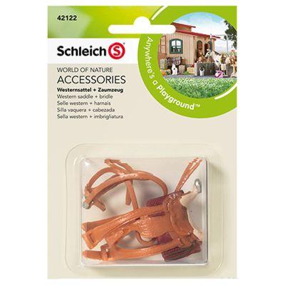 Schleich Farm Life Western Saddle & Bridle