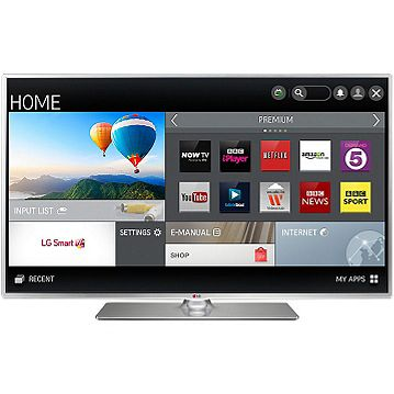 2841040282f LG 39LB580V 39 Inch Full HD Freeview HD Smart LED TV with built in WI-FI  Catalogue Number: 748-4942
