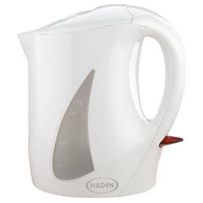 Haden HD4593 2200w 1.7 litre White Corded Dual Windows Kettle