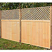 Square Highgrove Wooden Trellis, 3 pack, 60cm