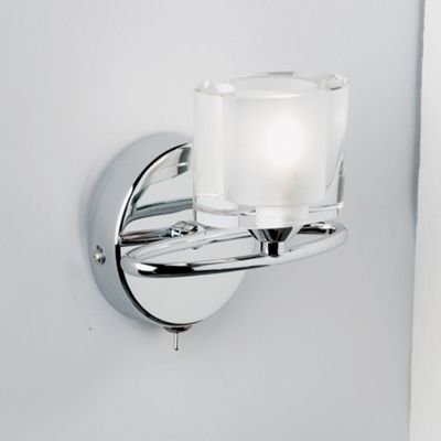Endon lighting sonata wall light in chrome