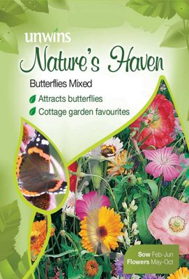 Natures Haven Butterflies Mixed