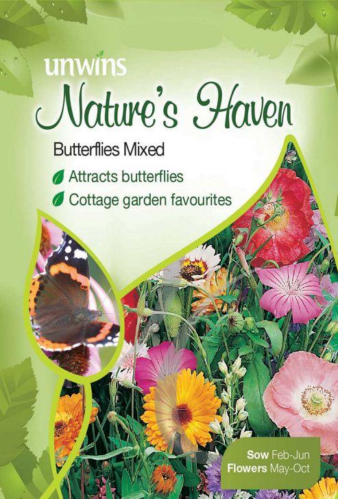 Natures Haven Butterflies Mixed