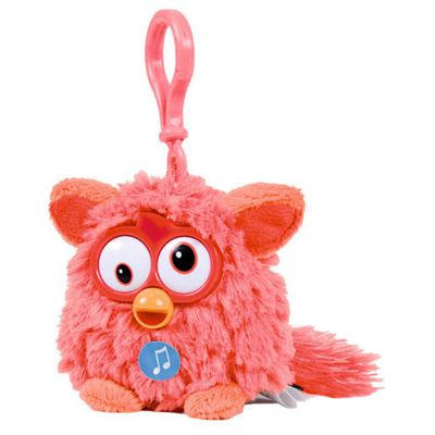 Furby Talking Key Ring - Orange