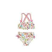F&F Floral Print Swing Top Bikini Set - Multi