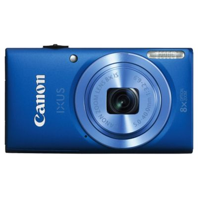 Canon Ixus 132 Digital Camera, Blue, 16MP, 8x Optical Zoom, 2.7