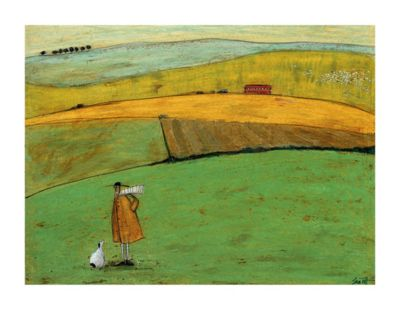 Sam Toft Doris Wants to Take the Bus Print