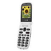 Doro 6030 Easy Sim Free Camera Phone - Graphite/White