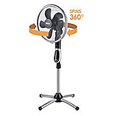 "Beldray 16"" 360 Degree Pedestal Fan With Built In Timer"