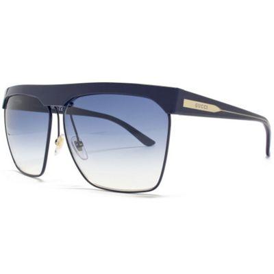 Gucci Sunglasses Visor in Navy.