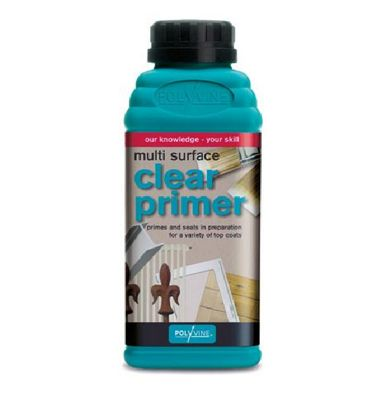 Polyvine Clear All Purpose Primer Primes And Seals - 500 ML