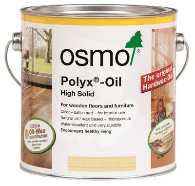 Osmo Polyx Hard Wax Oil - Clear - Satin - 750ml