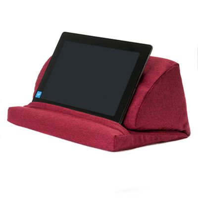 Wine Wool Effect Pull Out Foam Laptop Tablet Stand