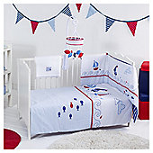 Red Kite Cosi Cot Bedding Set, Ships Ahoy