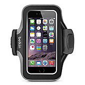 Belkin Slim-Fit Plus Carrying Case (Armband) for iPhone - Blacktop