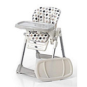 Mee-Go Compacto Hi/Lo Highchair - Dotty
