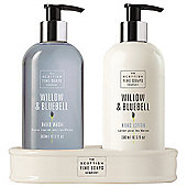 Scottish Fine Soaps Willow & Bluebell Hand Care Set