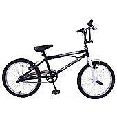 "Ammaco Freestyler 20"" Wheel BMX Bike 360 Gyro Black"