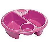 The Neat Nursery Circular Top N' Tail Wash Bowl - Pink