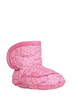 F&F Fleece Lined Booties - Pink