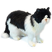 Hansa 46cm Black And White Cat Soft Toy
