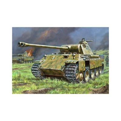 Zvezda - German Medium Tank Pz.Kpfw. V Panther Ausf.D - 1:72 Scale