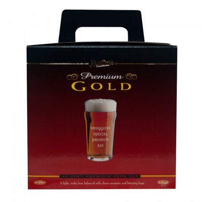Muntons Hand Crafted Home Brew Beer Kit – Smugglers Special Ale - 40 Pints