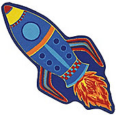 Space Rocket Mat 62 x 133 cm