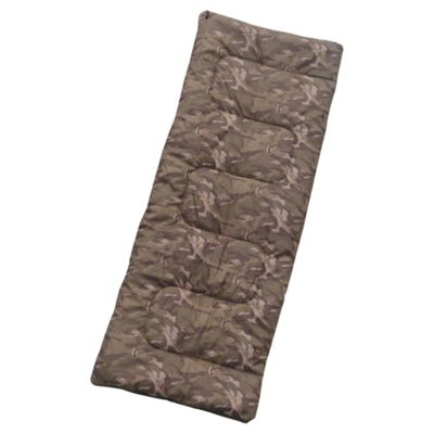 Tesco Kids' Sleeping Bag, Camouflage
