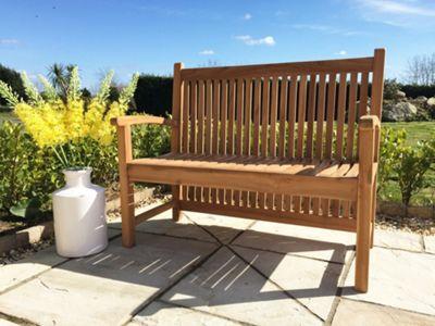 Teak Garden Bench - Bath - 120cm