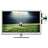 Sharp 24in LC-24DHF4011KW White HD Ready LED TV with Freeview HD and DVD Player