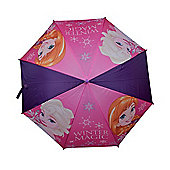 Frozen 'Purple' Full Panel Automatic Nylon Umbrella