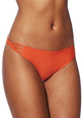 South Beach Strappy Bikini Briefs Orange 10
