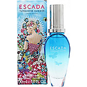 Escada Turquoise Summer Eau de Toilette (EDT) 30ml Spray For Women