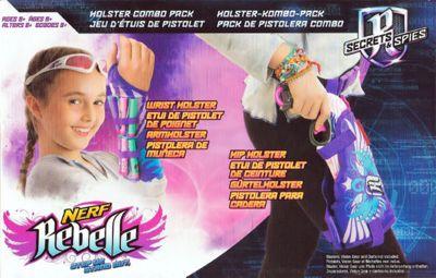 Nerf Rebelle Wrist Holster Combo Pack