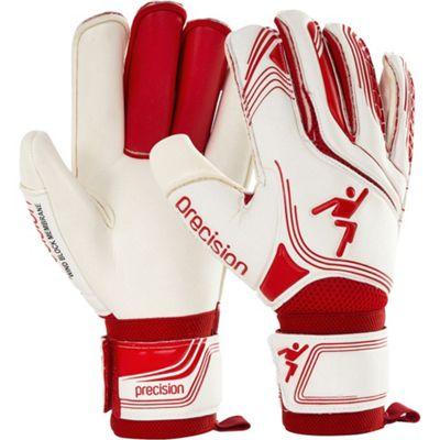 Precision Gk Premier Rf Finger Protection Junior Goalkeeper Gloves Size 4