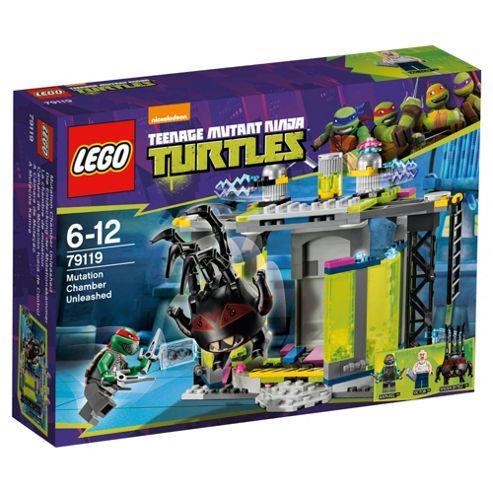 LEGO Teenage Mutant Ninja Turtles Mutation Chamber Unleashed 79119