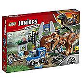 Lego Jurassic World Juniors T.Rex Breakout 10758