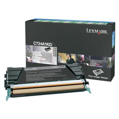 Lexmark Toner Cartridge (C734A1KG) - Black