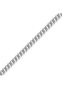 Sterling Silver 5mm Gauge Curb Chain - 20 inch