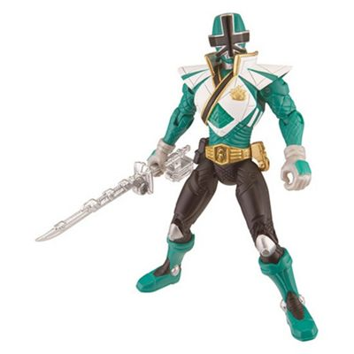 Power Rangers Super Samurai Action Figure - Green Super Mega Ranger