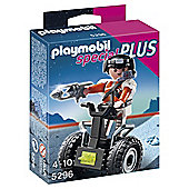 Playmobil 5296 Specials Plus Top Agent with Balance Racer