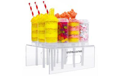 Andrew James 12 Piece Push Up Cake & Sweet Treats Pop Set