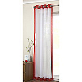 Alan Symonds Mayfair Single Voile - Red