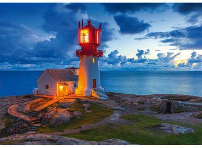 Lighthouse at Dusk - 1000pc Puzzle